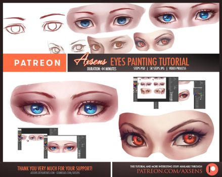 Eyes Painting Tutorial by Axsens