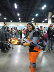 Gordon Freeman Female Version by halogirl117pr