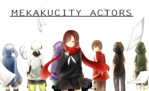 mekaku city actors by Rmblee
