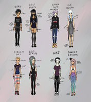 Urban Losers - Adopt Me! [OPEN/LOWERED PRICES] by Kewtz