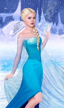 Snow Queen Elsa by PovedaM