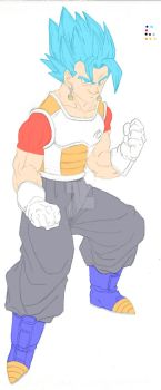 Vegeto SSJB FnF by hidemaniac