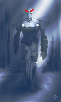 Prowl and Shafts of Light 2017 by ryuzo