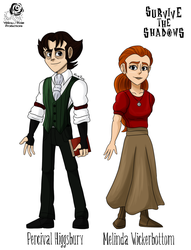 StS: Percival and Melinda by Aileen-Rose