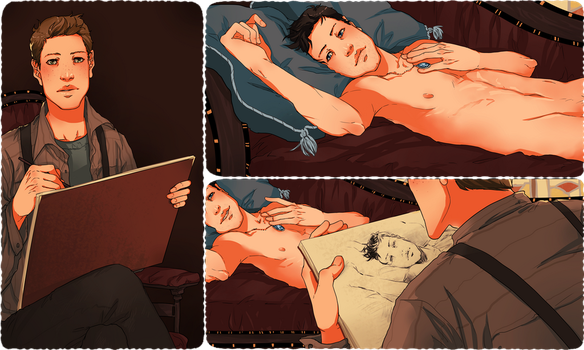 DC Titanic!AU: Like One of Your French Girls 2/2 by nella-fantasiaa