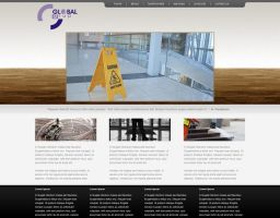 Global Grup Site Mock 2 by datamouse