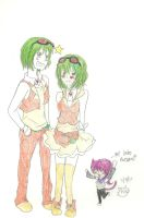Gumi and Gumo CoLOred by KiyaSparleVampire