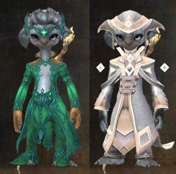 Malarak's outfits in Guild Wars 2 by DarkAOD
