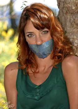 Emma Colberti Gagged by PhM 001 by PhMBond