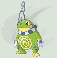 #186 (Mega) Politoed by RaiZhuW-The-Real