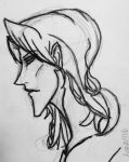 Jacob Roswell side profile by Andailite47