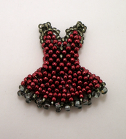 Very Teeny Dress - Gothic Red by pinkythepink
