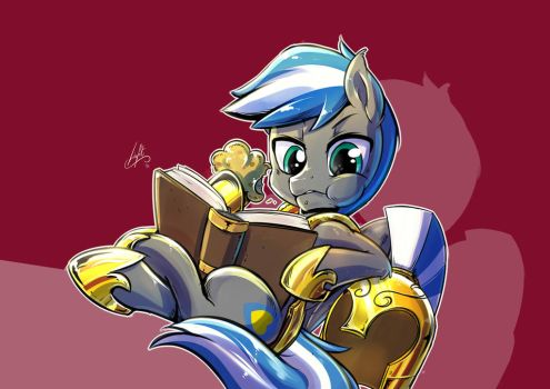 [Light] Break reading - COMMISSION for CloudZapper by Light262