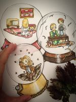 Remothered: ..Snowglobes.. by lonelymori