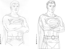 superman sketches by gjrdesign