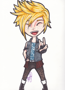 Prompto by DeAtH-bY-fIrE