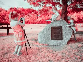 Sandy the Photographer (2/2 Infrared) by KBeezie