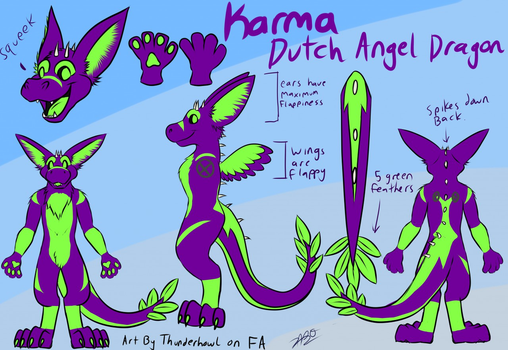 Karma Reference Sheet by Elko-K