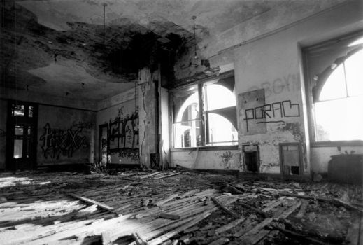 Michigan Central Station Office by kgrillz