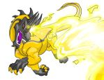 Fafnir's Mag Blast by Crazy-Dragon