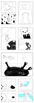 24 Hour Comic Day Challenge (Pages 16-23) by Golden-light