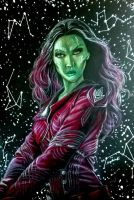 Gamora-Guardians of the Galaxy by StarKite1
