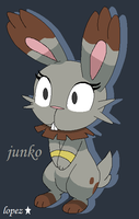 Junko the bunnelby