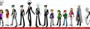 AN- Character Lineup by Cryej