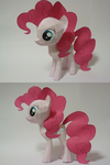 Pinkie Pie Papercraft by vegeta0777