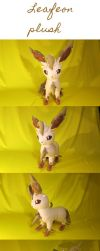 Leafeon plush +++FOR SALE+++ by Luminous-Luchador