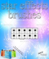 Star Effects Brushes by GrDezign
