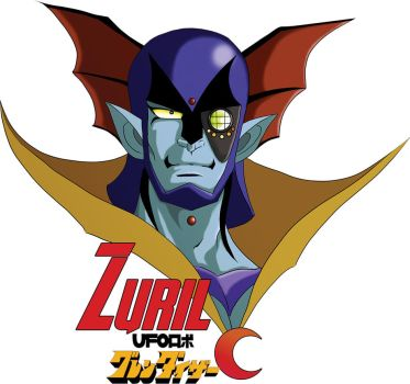 Zuril from Ufo Robot Grendizer by Envavoid