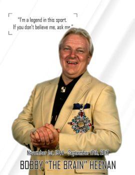 Bobby 'The Brain' Heenan poster by ChrisNeville85