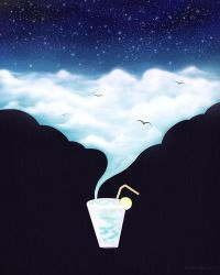 Drink the Sky by electrifried