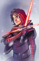 Kylo Ren - Pledge to the Sith by MattCarberry