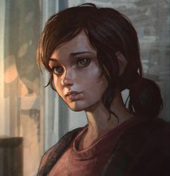 Ellie The Last Of Us by Kuvshinov-Ilya