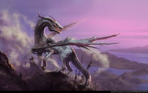 White Dragon by randis