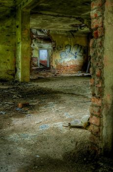 In the house before demolition by 1krtecek