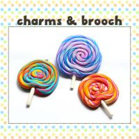 Lollypop Charms by pixypop