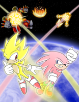 Sonic and Knuckles Finale by Mit-Man