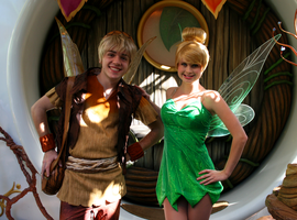 Tinkerbell and Terence by DisneyLizzi