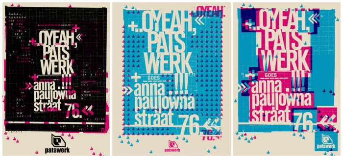 moving poster 3 variations by patswerk