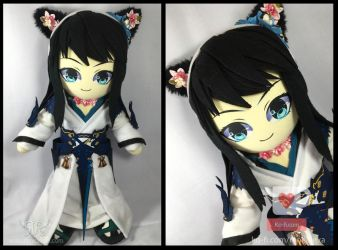 Shadow - 40cm by renealexa-plushie