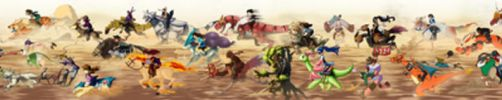 GREAT POKEMON RACE - COLLAB by JWiesner