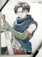 Traditional Drawing: Levi by ECrystalica