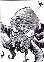 War of the Worlds sketchcard 21 by RobertHack