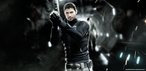 Chris Redfield, The Hero by LitoPerezito