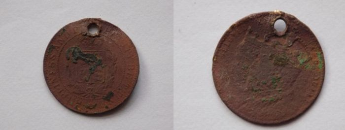 metal detecting find (cool coin 1) by spoonicuss