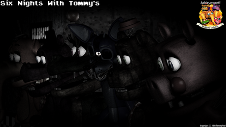 Six Nights with Tommy's Teaser 1 by TommyFnaf
