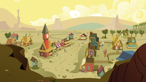 The Friendly Town of Appleloosa by lightningtumble